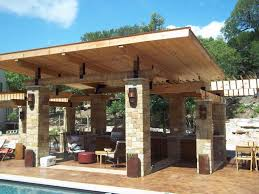 outdoor kitchens and patios designs. captivating covered outdoor kitchen patio design using l shape kitchens and patios designs