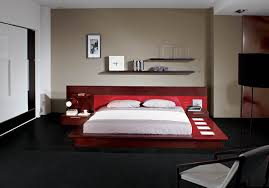 Modern Platform Bedroom Set Platform Bed With Lights