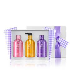molton brown usa limited edition 3 piece shower gel hand wash gift set