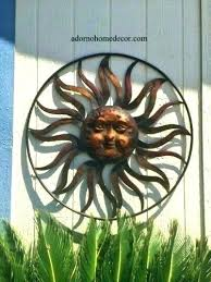 >metal sun wall art outdoor hand painted metal sun wall hanging  metal sun wall art outdoor wall arts outdoor metal sun wall art outdoor sun face wall metal sun wall art