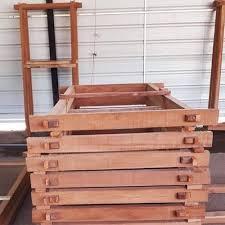 natural wood rust proof wooden door