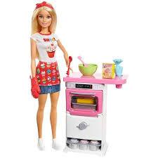 Barbie Vending Machine Walmart Custom Barbie Cooking Baking Bakery Chef Storytelling Doll And Playset
