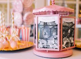 carousel photo frame from a carousel of dreams birthday party via kara s party ideas karaspartyideas