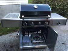 kenmore elite grill island. kenmore elite 4-burner propane gas grill with side shelf extra burner. island