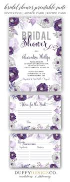ideas about printable invitations printable bridal shower invite bridal advice card recipe card advice for the bride card recipe for the bride printable invitation card suite purple gray