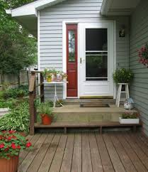 Porch Design Ideas Mixing Colors Could Spice Up Your Front Doors Look
