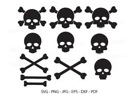Freesvg.org offers free vector images in svg format with creative commons 0 license (public domain). 3 Skull Cut Files Designs Graphics
