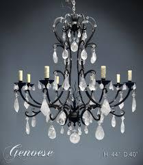 rock crystal chandeliers