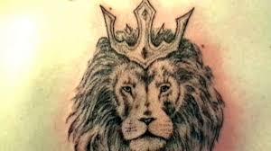 делаем льва на спине