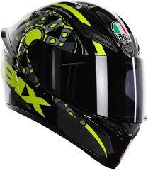 Soft Design Agv Agv K 1 Rossi Vr46 Flavum 46 Motorcycle Helmet