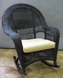 wicker outdoor rocking chair amazing bayview 3 piece set in pecan with 10
