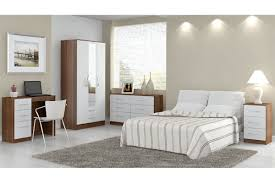Lynx Bedroom Furniture Lynx Walnut And White Wooden Bedroom Furniture Collections