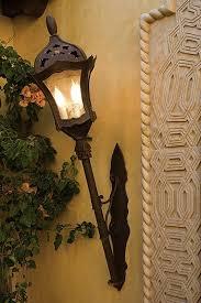 lighting fixture from coutyard