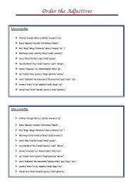 101 FREE Word Order Worksheets