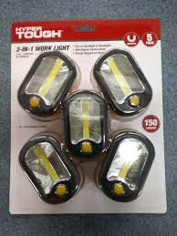 Hyper Tough 2 In 1 Magnetic Light Hyper Tough 2 In 1 Magnetic Work Light 5 Pack 150 Lumens With 360 Degree Hook