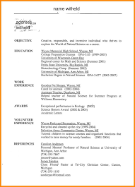 Objective For High School Resumes 10 High School Student Resume Objective Examples Boy Friend