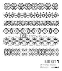 What Are The Different Design Styles Collection Of Ornamental Rule Lines In Different Design