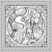 Disegni Da Colorare Mandala Bambini 10 Mandala Della Primavera