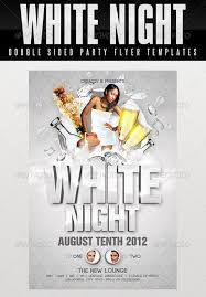 Free All White Party Flyer Template Top 10 Best White Psd Flyer