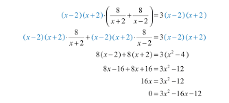 next solve the resulting quadratic equation