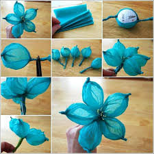 How To Make A Flower Out Of Tissue Paper Step By Step Paper Flowers Step By Step Instructions How To Make Paper Roses