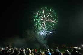 fireworks at baxter park last year