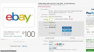 100 ebay giftcard for 95 email delivery