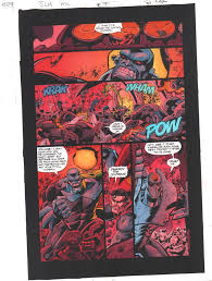 The comic book was called action comics #1 and recently is one of the most expensive comic books in the world. Anthony S Comic Book Art For Sale Artwork Jla Incarnations 7 P 34 Color Guide Art Superman And Batman Vs Appelaxians 2002by Artist John Kalisz