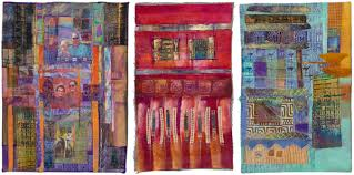 Becoming a quilt artist: inspiration, tips, talk - Stitch This ... & Gallery quilts from Creative Mixed Media Adamdwight.com