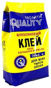 <b>Клей</b> для <b>обоев QUALITY</b> Флизелиновый — купить по выгодной ...
