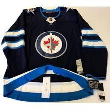Winnipeg Jets Size 46 Size Small Adidas Hockey Jersey Climalite Authentic