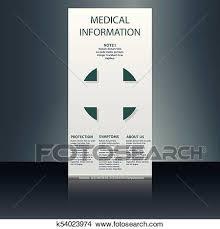 Medical Brochure Flyer Design Template A4 Size Medical Brochure Template Clipart