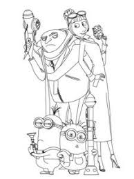 Small Picture Dave The Minion Despicable Me Coloring Page Gavins 2nd birthday