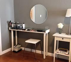 Makeup Tables For Bedrooms Mirrors Bedroom Vanities Wayfair Makeup Vanity Table Set With