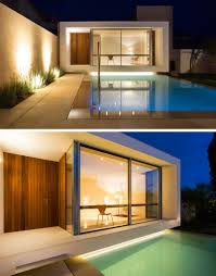 office in house. Office In House. A Small Pool Is Positioned Between House And Studio Space, With G