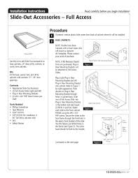 Kitchen Cabinet Installation Guide Kitchen Cabinet Rollout Shelves How To Install The Home Depot