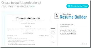 Perfect Resume Maker From Resume Builder Online Free