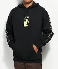 Huf Type Black Hoodie