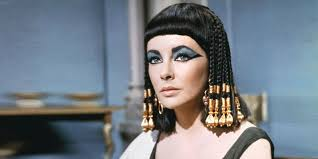 Ancient Egyptian Hair Style thick and thin eyebrows through the ages peacock plume 8116 by wearticles.com