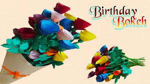 Paper Quilling Flower Bokeh How To Make Paper Rose Flower Bokeh Step By Step Diy
