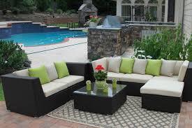 houzz patio furniture. Outdoor Patio Paradise Eurolux Verano Wicker Sofa Houzz Patio Furniture Tim Aylen