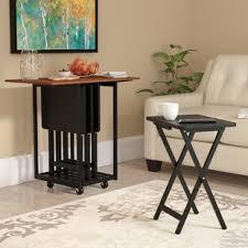 Decorative Tv Tray Tables Folding TV Trays You'll Love Wayfair 81