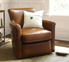 irving leather swivel armchair pottery barn leather swivel club chair irving leather swivel armchair natuzzi leather