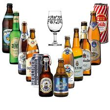 german craft beer gift set selection pack with branded gl 12 pack amazon co uk beer wine spirits