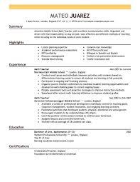Cover Letter For Teachers Sample Teaching Cover Letter Examples