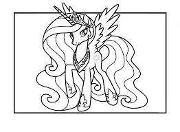 princess celestia coloring pages best for kids inside