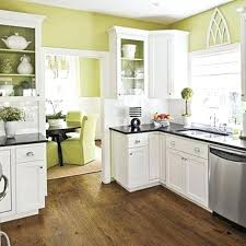 wall paint colors for white kitchen cabinets in sage green and black good a cabinet colours