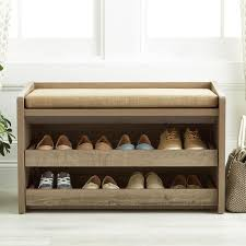rustic entryway bench with storage. Rustic Driftwood Mercer Entryway Storage Bench For With The Container Store