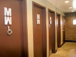 Unisex Bathrooms Bathroom Pinterest Bathroom Bathroom signs Delectable Unisex Bathroom