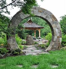38 eye catching moon gate designs for